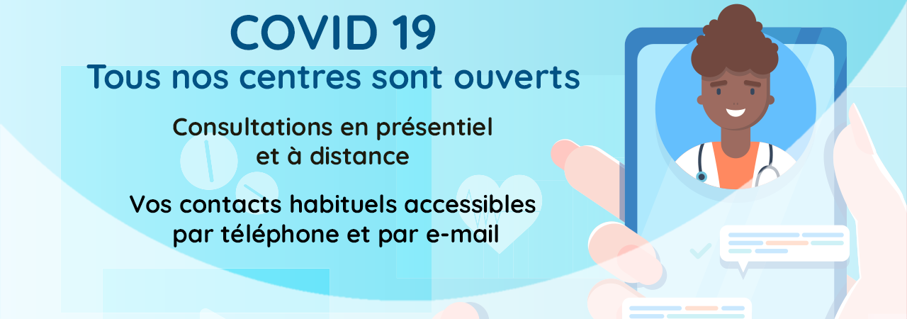COVID 19 : informations adhérents